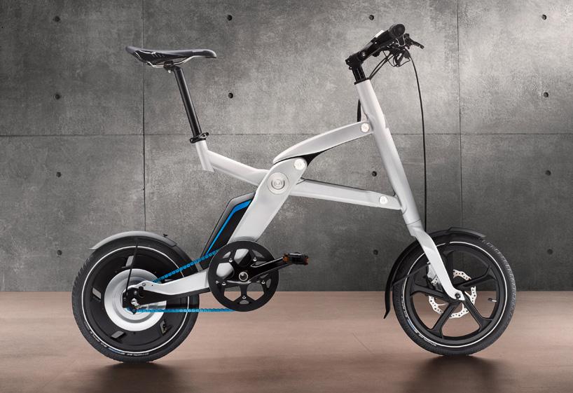 BMW Folding Electric Bike