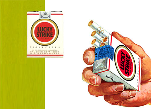 Brand New Lucky Strikes Out  underconsiderationcom