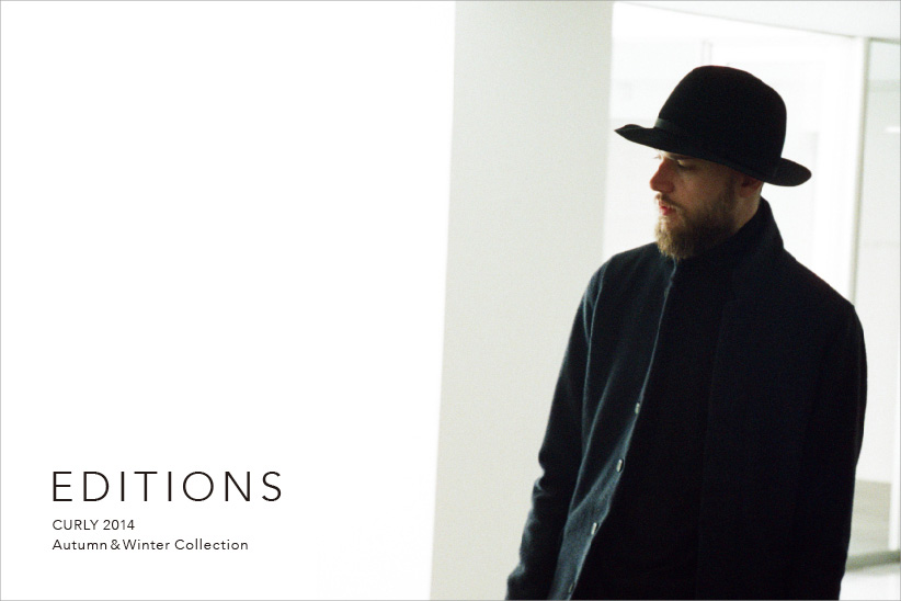 EDITIONS CURLY 2014 Autumn&Winter Collection
