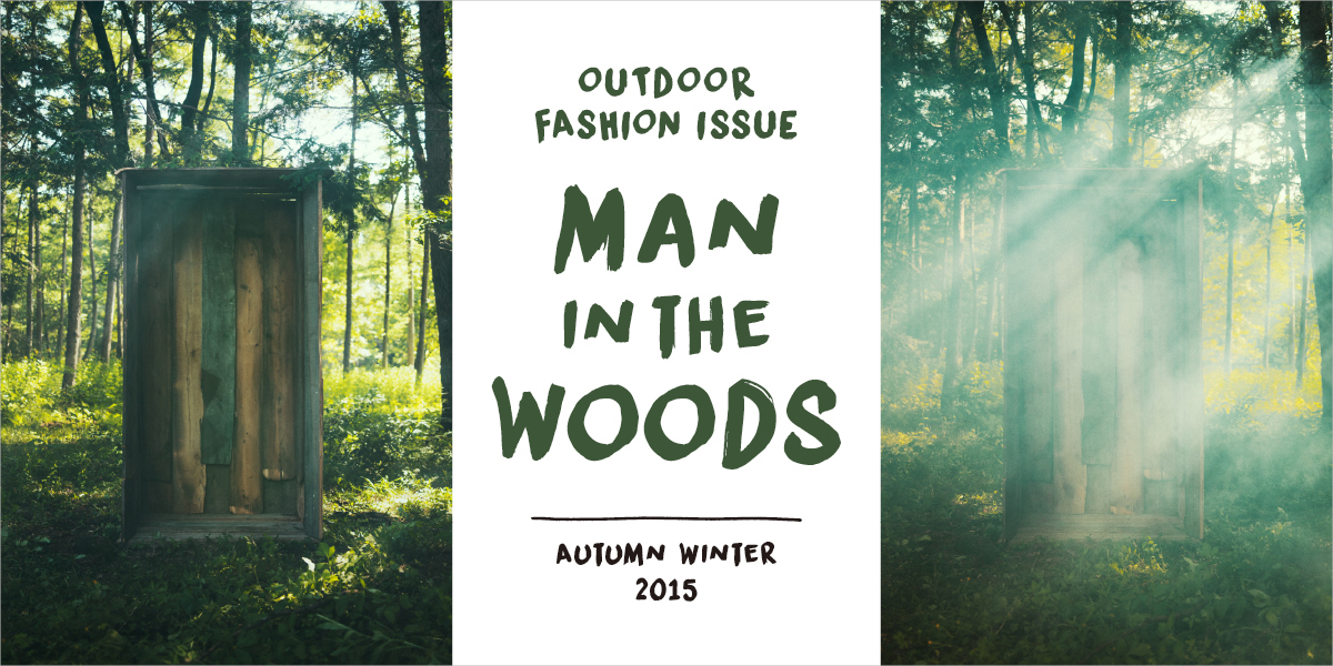 MAN IN THE WOODS 2015 AUTUMN WINTER OUTDOOR FASHION