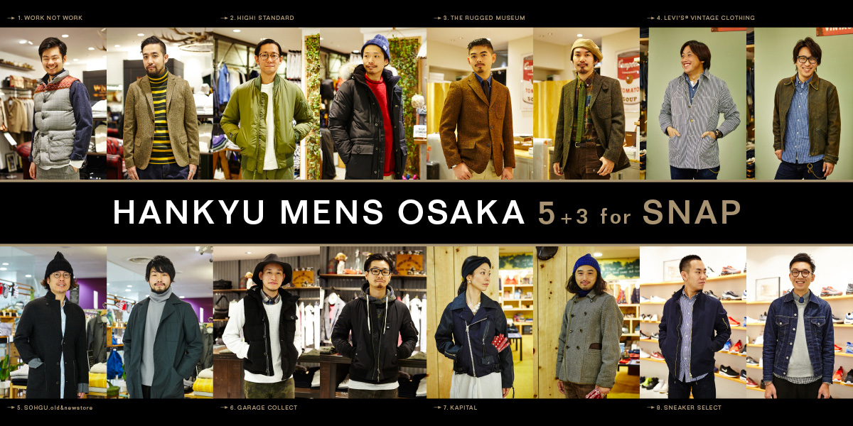 HANKYU MENS OSAKA 5+3 for SNAP