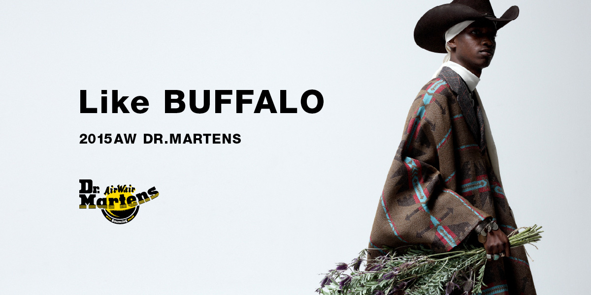 Like BUFFALO 2015AW DR.MARTENS Like BUFFALO