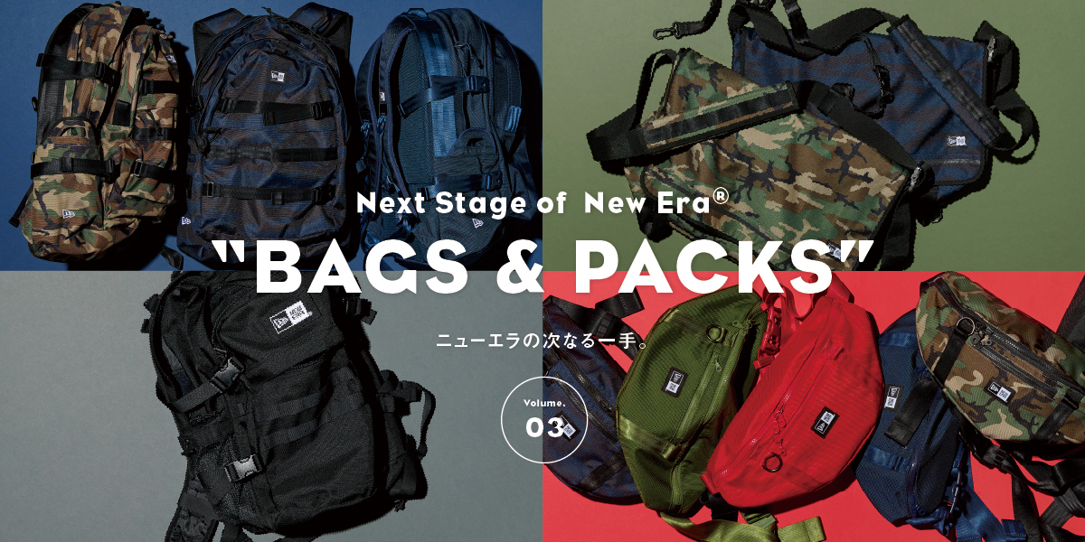"Next Stage of New Era®""Bags & Packs"" vol.03 ニューエラの次なる一手。"