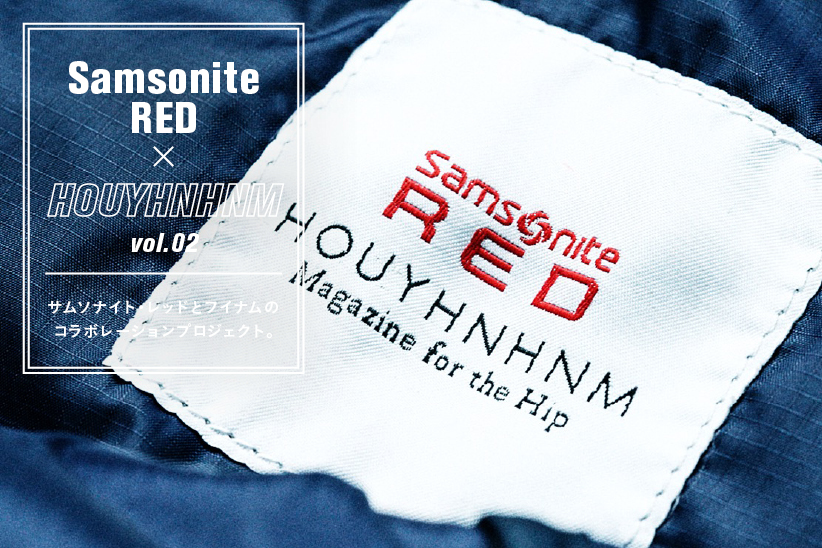 Samsonite RED×HOUYHNHNM vol.02
