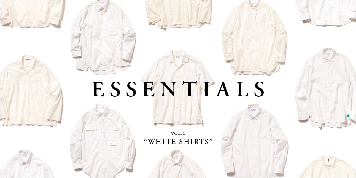 "ESSENTIALS Vol.1 ""WHITE SHIRTS"""