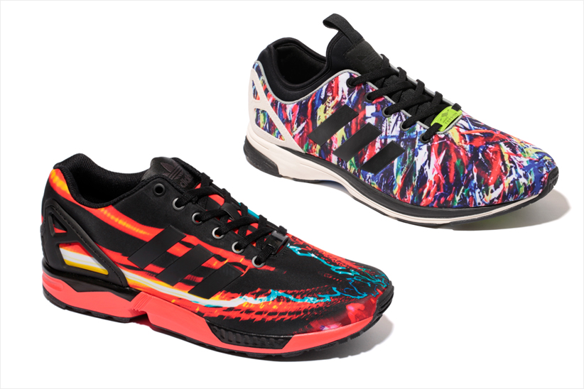 "ZXファミリーのDNAを引き継ぐ ""ZX FLUX""の新作がリリース。"