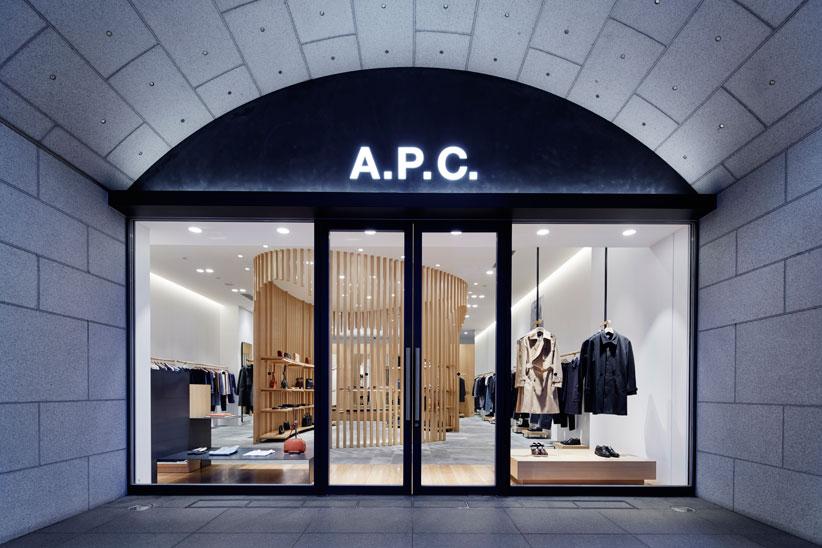 京都の美意識とリンクしたお店に。A.P.C.京都が移転リニューアルオープン!