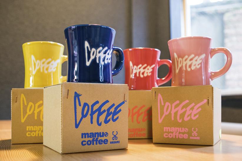 福岡のヒップなコーヒー屋「manu coffee」が、波佐見焼きのマグカップを!|NEWS(ニュース)|HOUYHNHNM(フイナム)