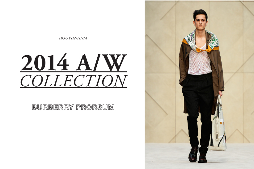 BURBERRY PRORSUM 2014AW collection