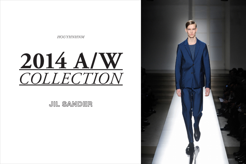 JIL SANDER 2014AW collection
