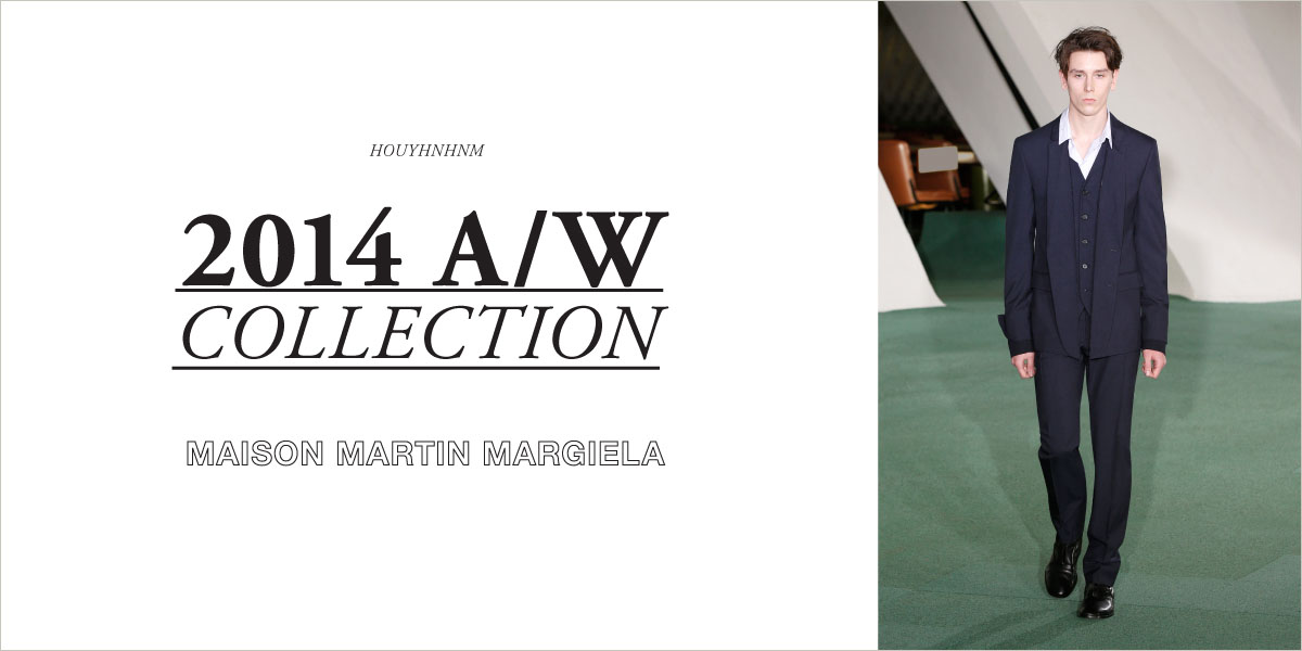 MAISON MARTIN MARGIELA 2014AW collection