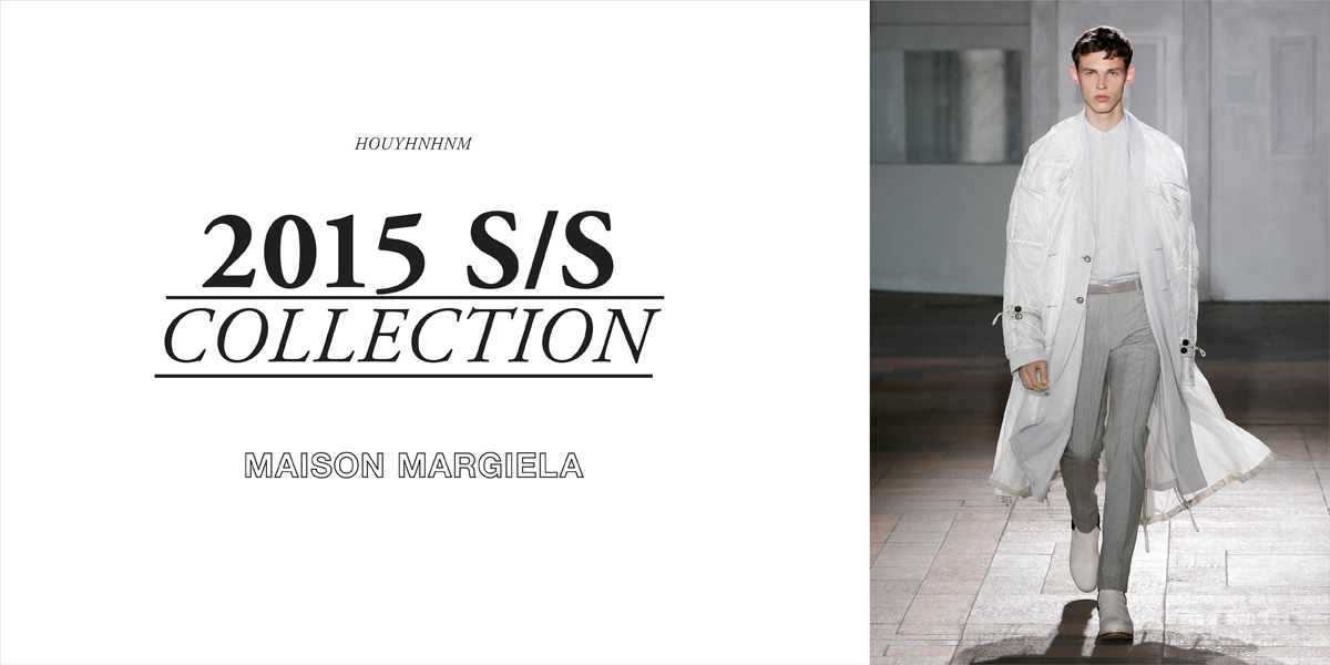 MAISON MARGIELA 2015SS collection
