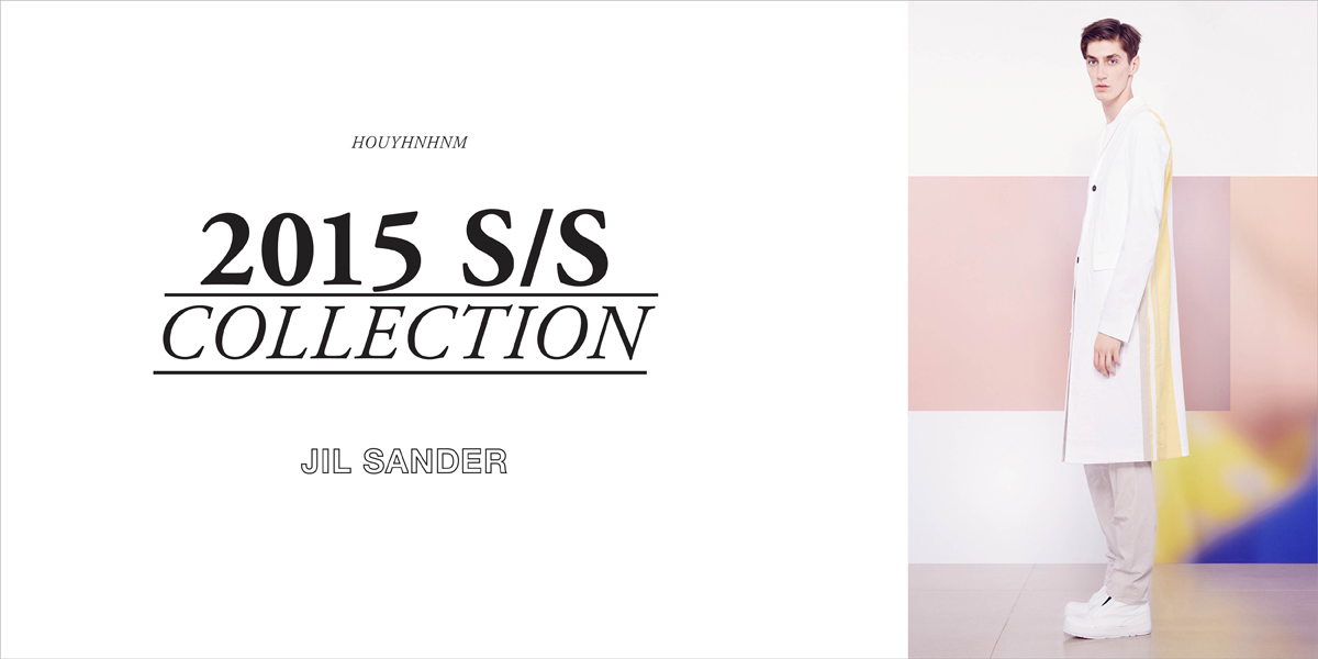 JIL SANDER 2015SS collection