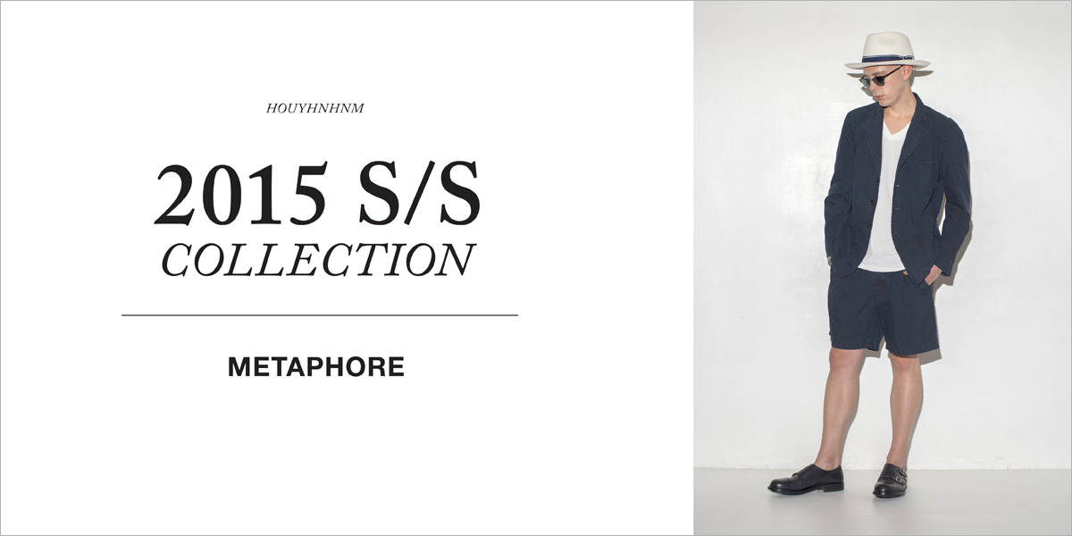 METAPHORE 2015SS collection