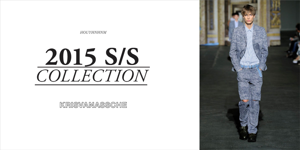 KRISVANASSCHE 2015SS collection
