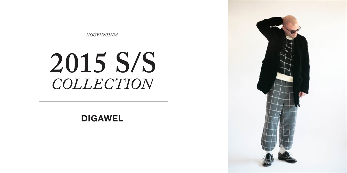 DIGAWEL 2015SS collection