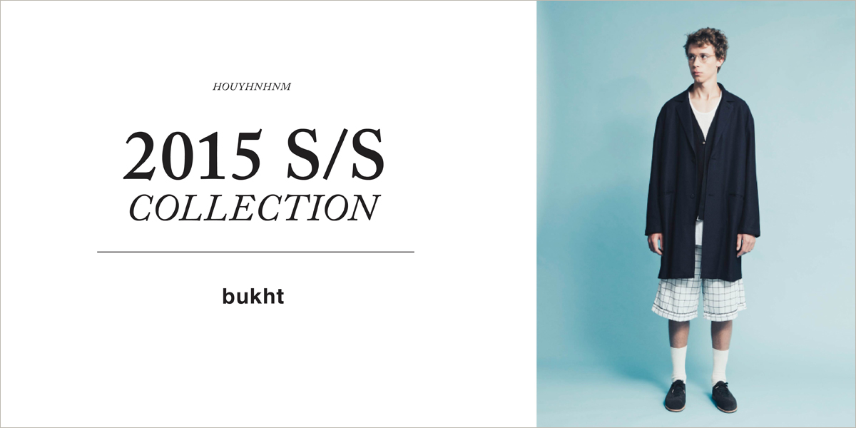 bukht 2015SS collection