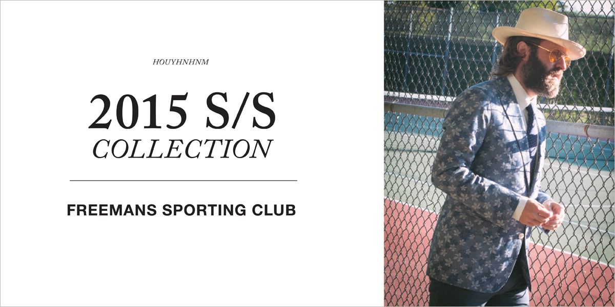 FREEMANS SPORTING CLUB 2015SS collection