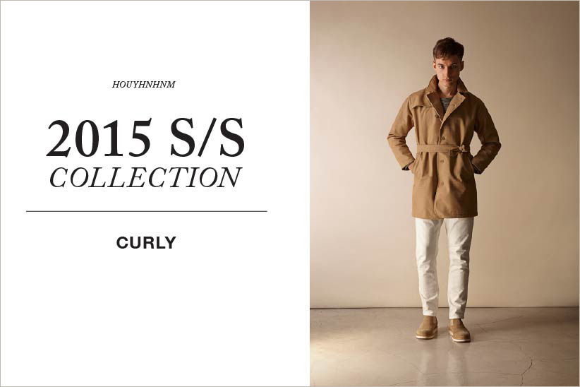 CURLY 2015SS collection