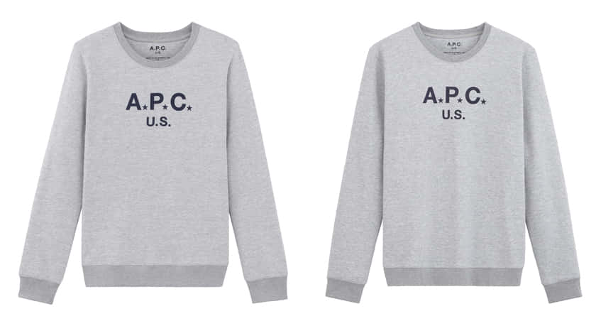 SWEAT APC US_17,000yen_Womens