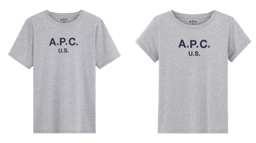 T-SHIRT APC US_9,000yen_men