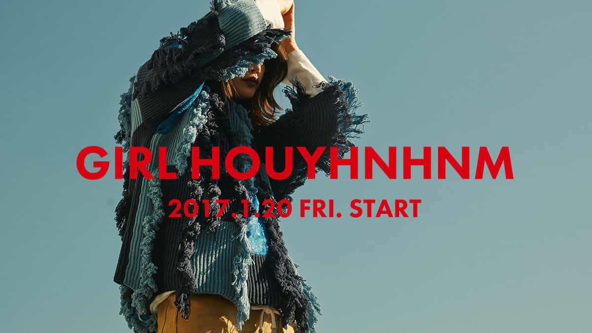 GIRL HOUYHNHNM 2017.1.20 FRI. START