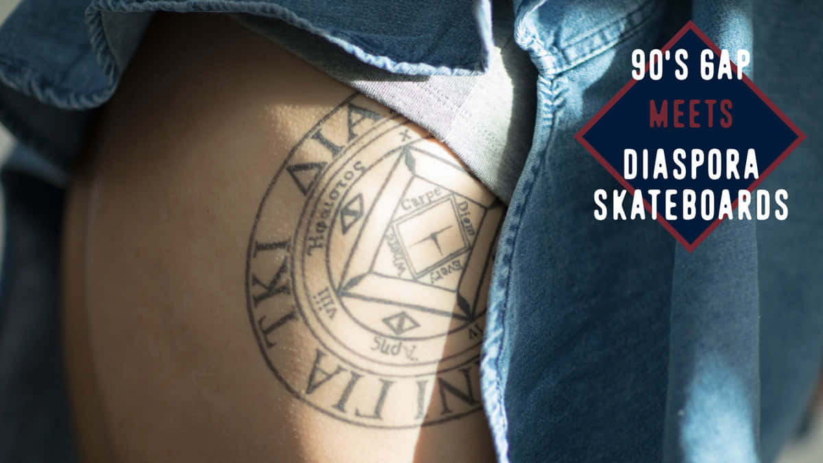 90's GAP meets Diaspora skateboards