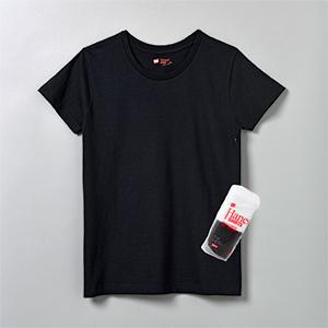 hanes_cluenecktshirts_forher_black