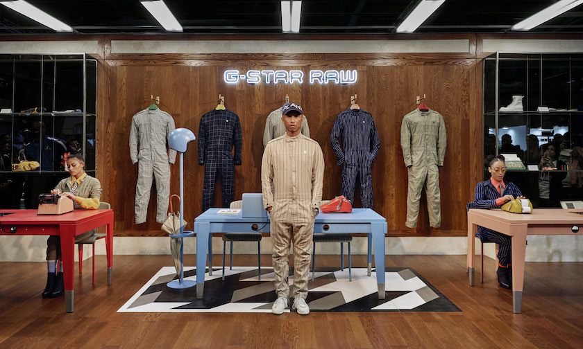 G-Star RAW Suit collection Pharrell 01