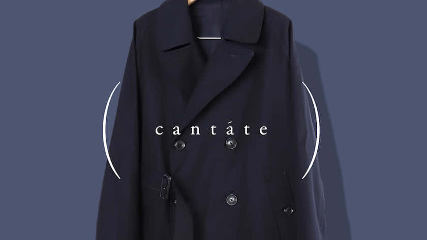 Cantate trench navy instagram
