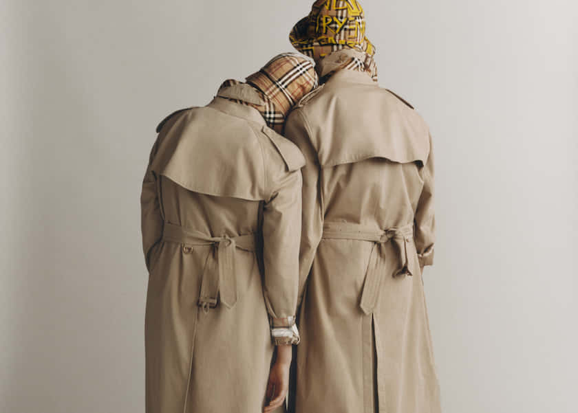 top_Burberry Heritage Trench Reimagined - photographed by Thurstan Redding, styled by Ruben Moreira