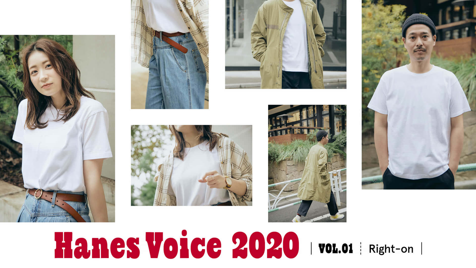 Hanes Voice 2020 vol.1「Right-on」